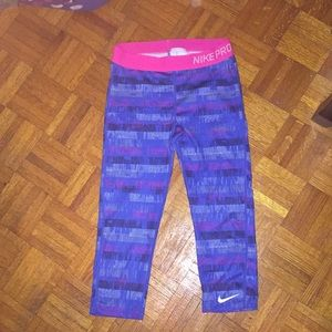 Nike Pro workout leggings/tights